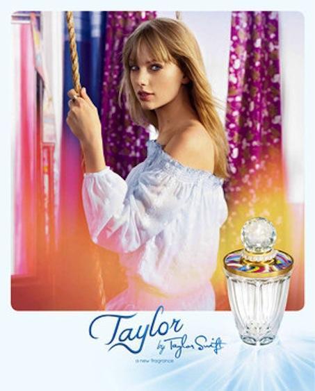 Taylor Swift Perfume Pic