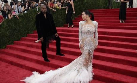 Kim Kardashian and Kanye West: 2015 Costume Institute Ball
