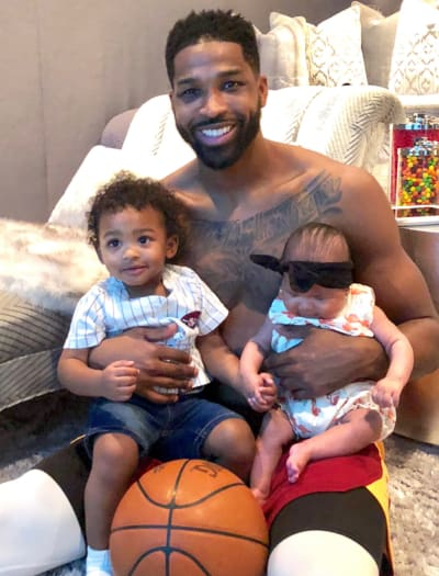 Tristan Thompson, Kids