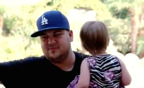 Rob Kardashian: See His Parenting Skills in Action!
