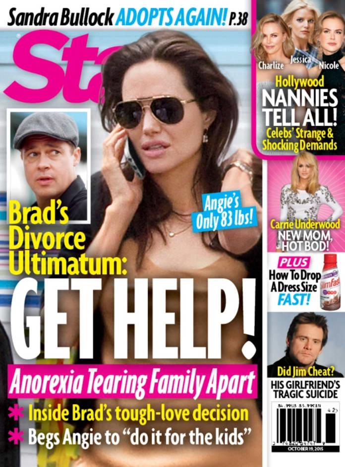 Brad Pitt, Angelina Jolie Star Magazine Cover - The Hollywood Gossip