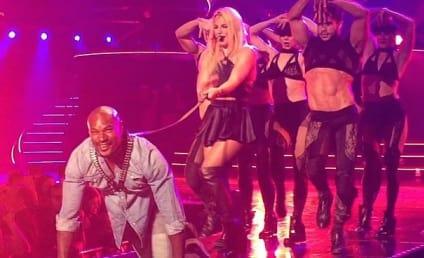 Britney Spears Walks Tyson Beckford on a Leash: WATCH!