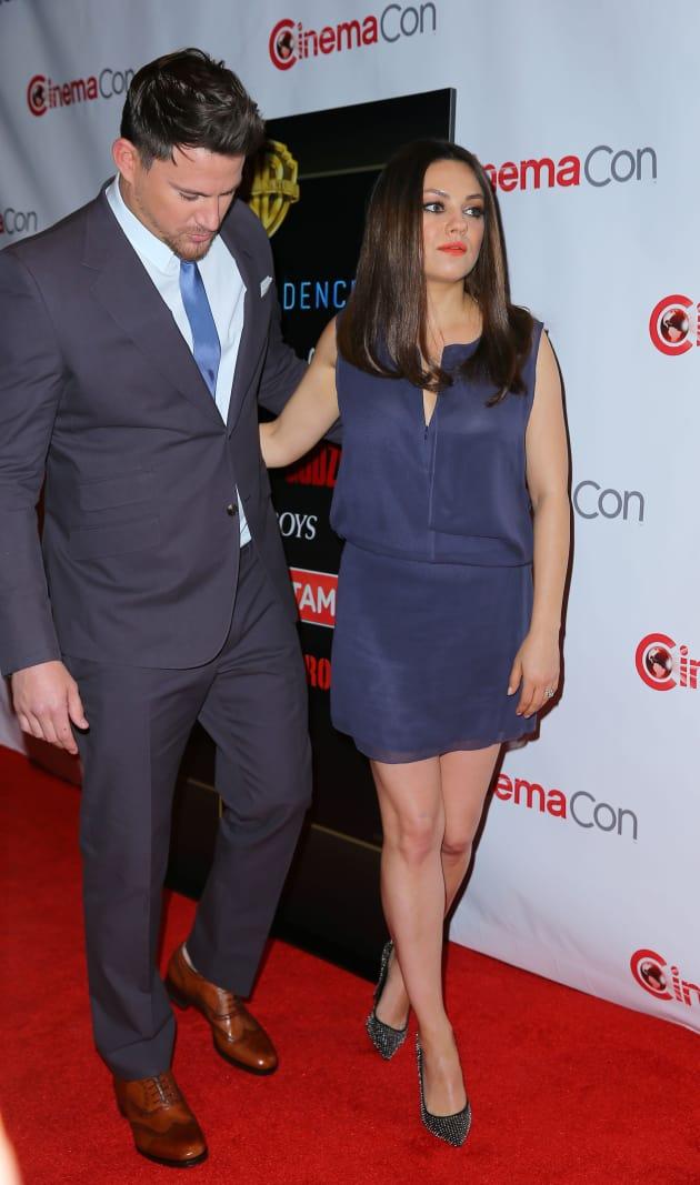 Mila Kunis and Channing Tatum Image