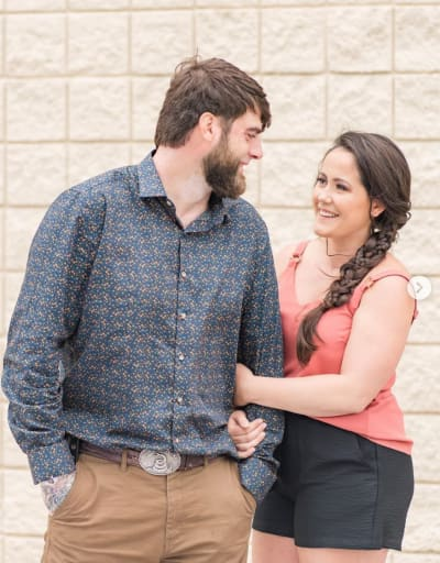 Jenelle and Dave Eason