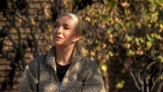 RHOBH 14 July 2021 promo - Erika Jayne cries outdoors