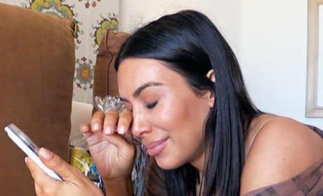 Kim Kardashian Breaks Completely Down, Wonders: Am I Safe?!?