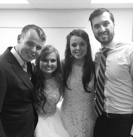 Jeremy and Jinger Vuolo, Joseph and Kendra Duggar