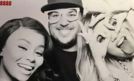 Blac Chyna, Rob Kardashian and Khloe Kardashian Celebrate Khloe's Birthday