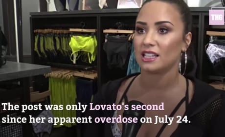 Demi Lovato Makes Return to Instagram
