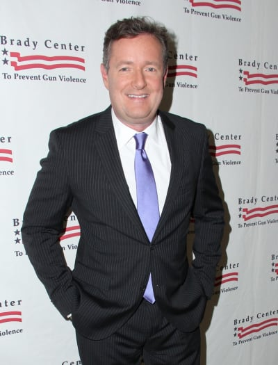 Piers Morgan Pose