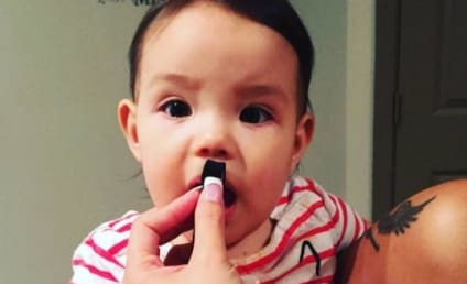 Tila Tequila Posts Photo of Infant Daughter Wearing Hitler Mustache
