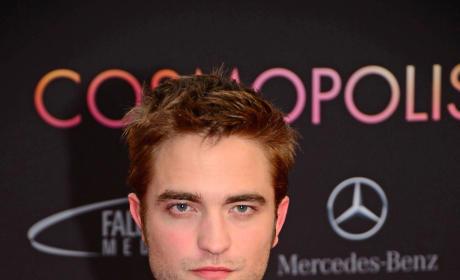 Robert Pattinson at Cosmopolis Premiere