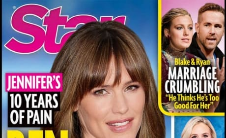 Star magazine cover: Jennifer Garner
