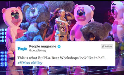 Twitter Reacts to Miley Cyrus VMA Performance: Let the Terrorists Win!