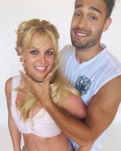 Britney Spears and Sam Asghari Get Silly