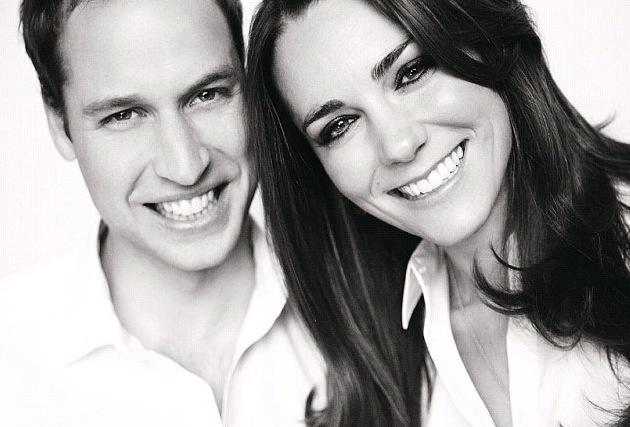William and Kate Wedding Portrait