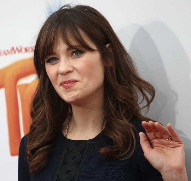 Zooey Deschanel Waves