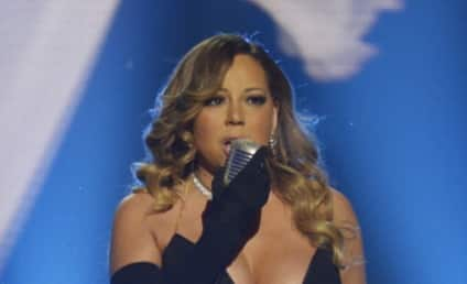 Mariah Carey Performs at BET Honors, Barely Wears a Dress
