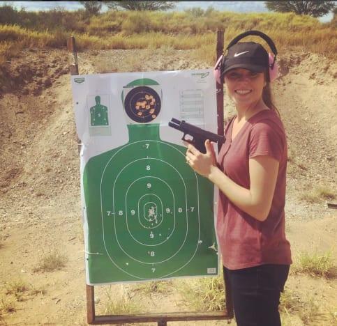 Jinger Duggar And Her Gun