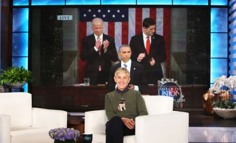 Ellen DeGeneres Loves Obama