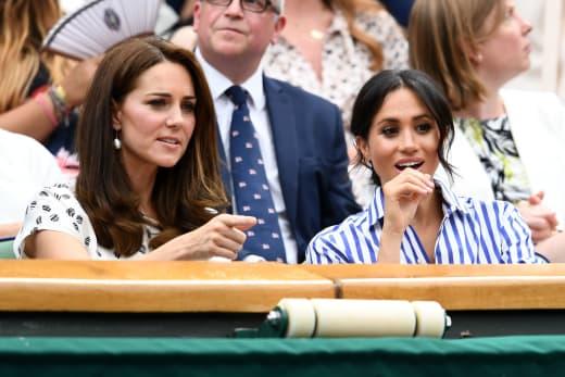 Meghan Markle and Kate Middleton Enjoy Sports Together
