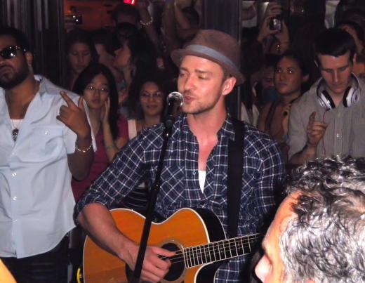 Justin Timberlake at Southern Hospitality