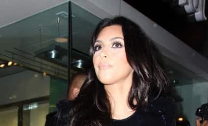 Kim Kardashian Plays Dead for Good Cause