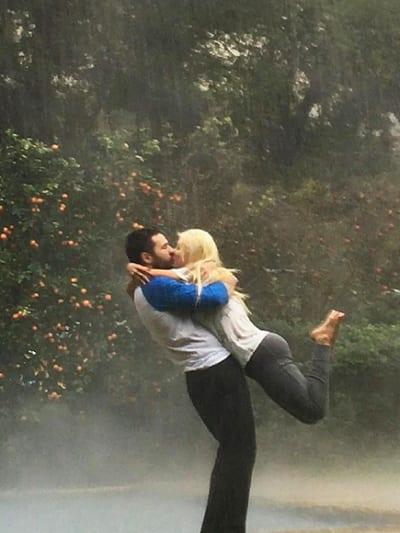 Christina Aguilera and Matt Rutler Make Like The Notebook