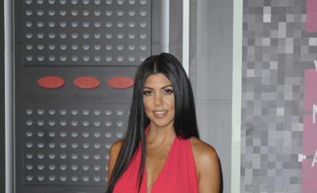 Kourtney Kardashian at the VMAs