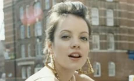 "Lily Allen Cover of Britney Spears' ""Womanizer"""