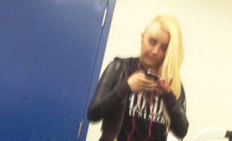 Amanda Bynes Gym Photo