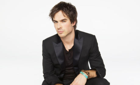 Ian Somerhalder in Nylon