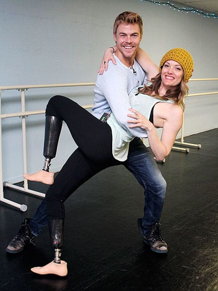 Amy Purdy and Derek Hough