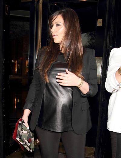 Kim Kardashian, Pre-Birth