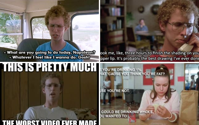 Best Napoleon Dynamite Quotes 11 Best Napoleon Dynamite Quotes: Sweet Skills and One Percent  Best Napoleon Dynamite Quotes