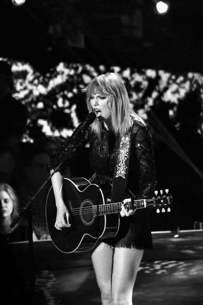 Taylor Swift is Black and White