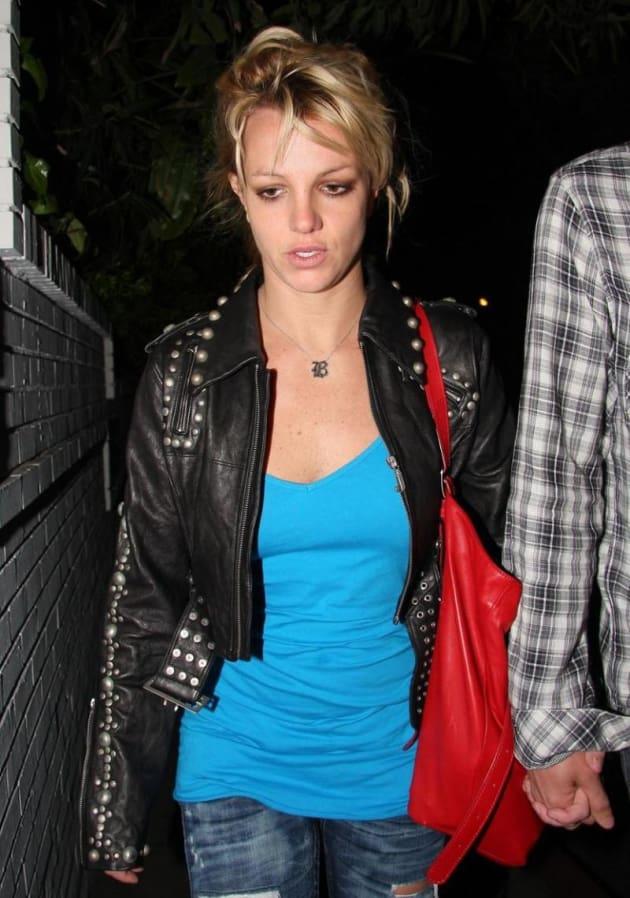 Sad Britney Photo