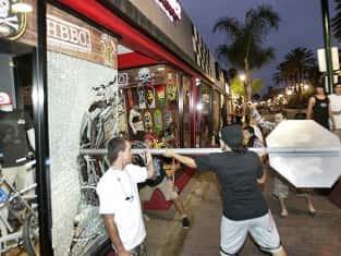Huntington Beach Riot Photo