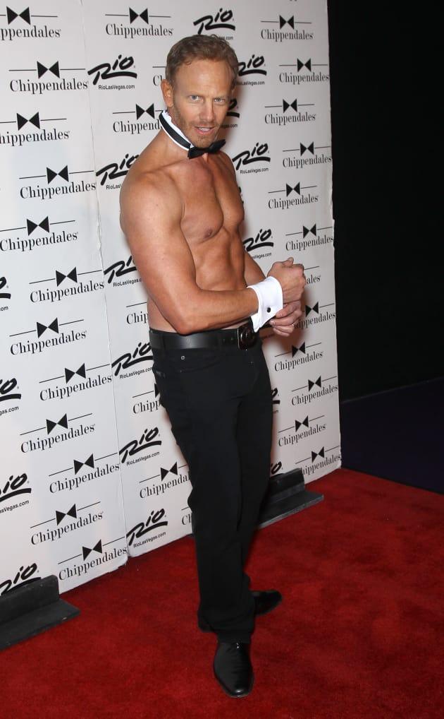 Ian Ziering Shirtless