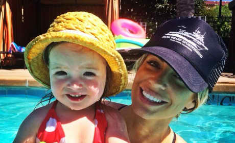 Lauri Peterson's Daughter, Ashley and Granddaughter, Kennedy
