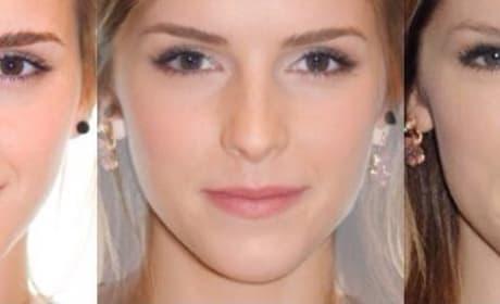 21 Celebrity Face Morphs