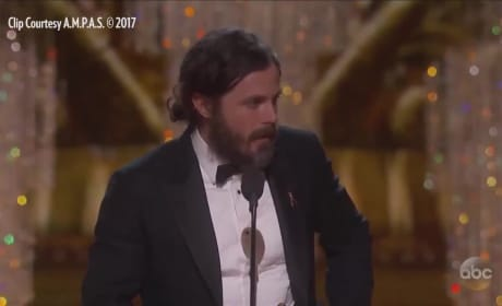 Casey Affleck Oscars Acceptance Speech: Who Did He Forget?