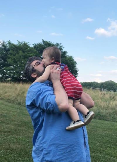 Andrew Glennon Holding Son