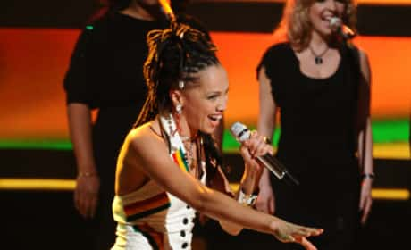 Naima Adedapo on Idol