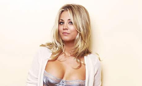 Kaley Cuoco Underwear Photo