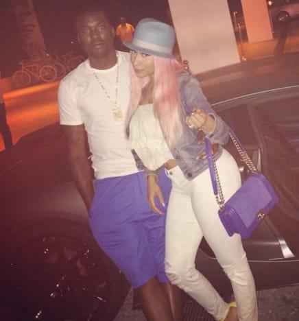 Who was nicki minaj dating before she moved to florida