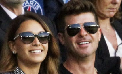 Robin Thicke: Engaged to April Love Geary!