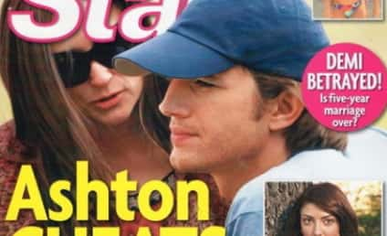 "Tabloid: Ashton Kutcher Has ""Tender"" Affair with... This Girl!"