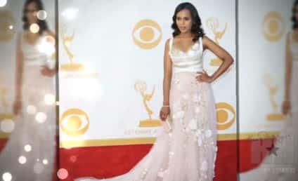 Kerry Washington Pregnant? Emmy Dress Sparks Speculation