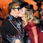 Miley Cyrus and Elton